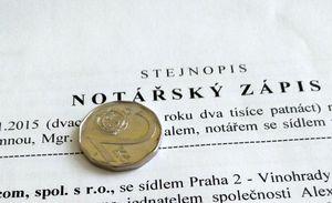 Фирма в Чехии может иметь капитал в одну крону. Но лучше - две