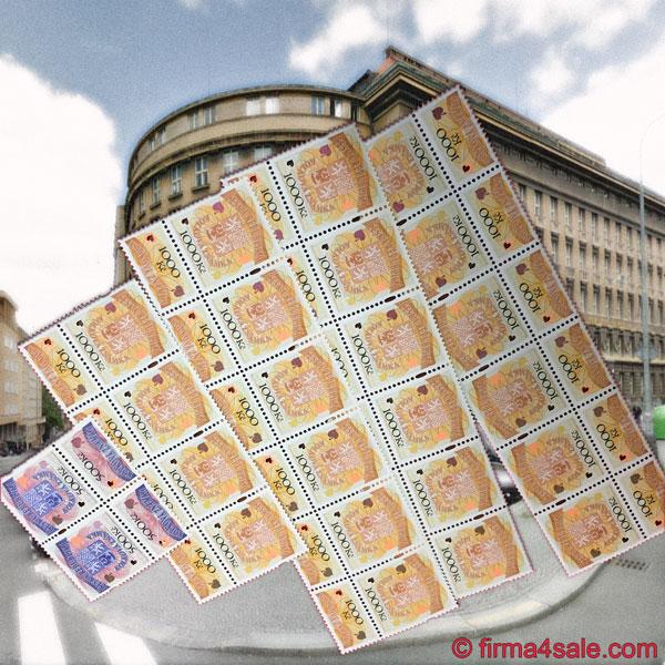 Государственный сбор при регистрации фирмы в Чехии оплачивается специальными марками